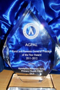AGPAL Rural and Remote Practice of the Year Award