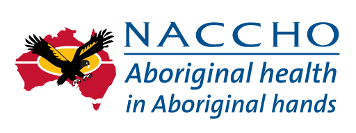 NACCHO logo. Aboriginal health in Aboriginal hands