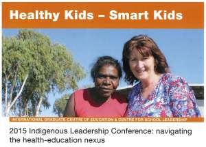 2015 Indigenous Leadership Conference- healthy kids-smart kids