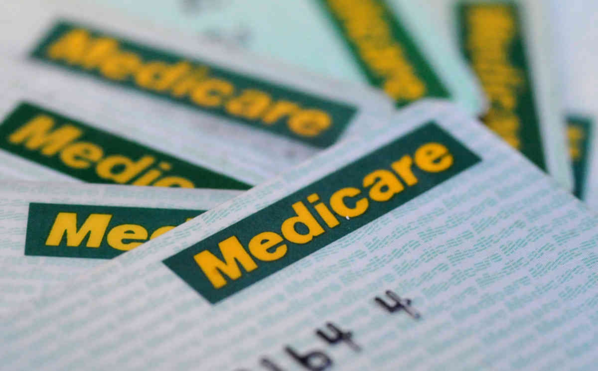 Stock Photo Of A Medicare Card, Monday, May 12, 2008 Federal Treasurer  Medicare