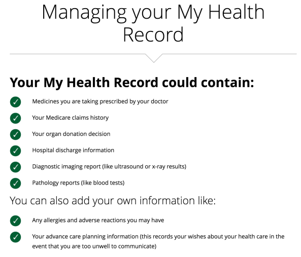 my health record opt out - photo #31