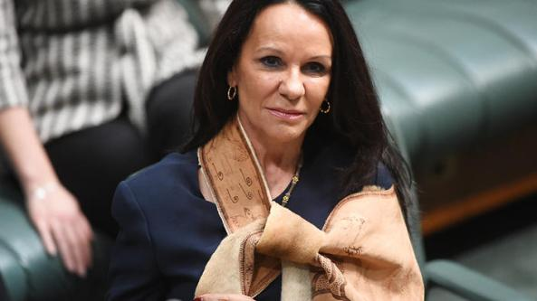 Shadow Minister for Human Services Linda Burney makes her maiden speech in the House of Representatives at Parliament House in Canberra, Wednesday, Aug. 31, 2016. (AAP Image/Mick Tsikas) NO ARCHIVING