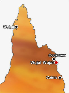 wujal-wujal-map