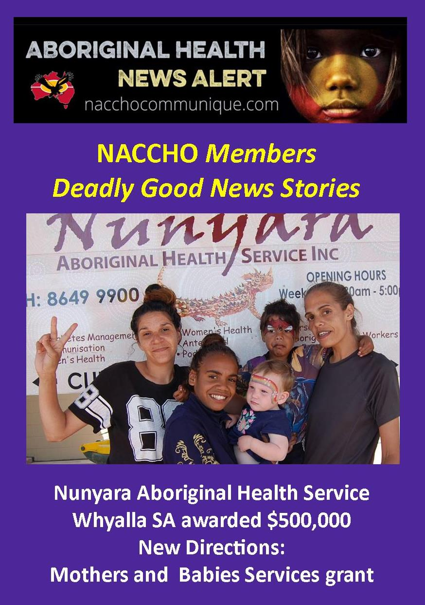 June 2017 naccho aboriginal health news alerts page 2 naccho aboriginal health our accho members good news stories from sa nt wa vic nsw qld fandeluxe Choice Image