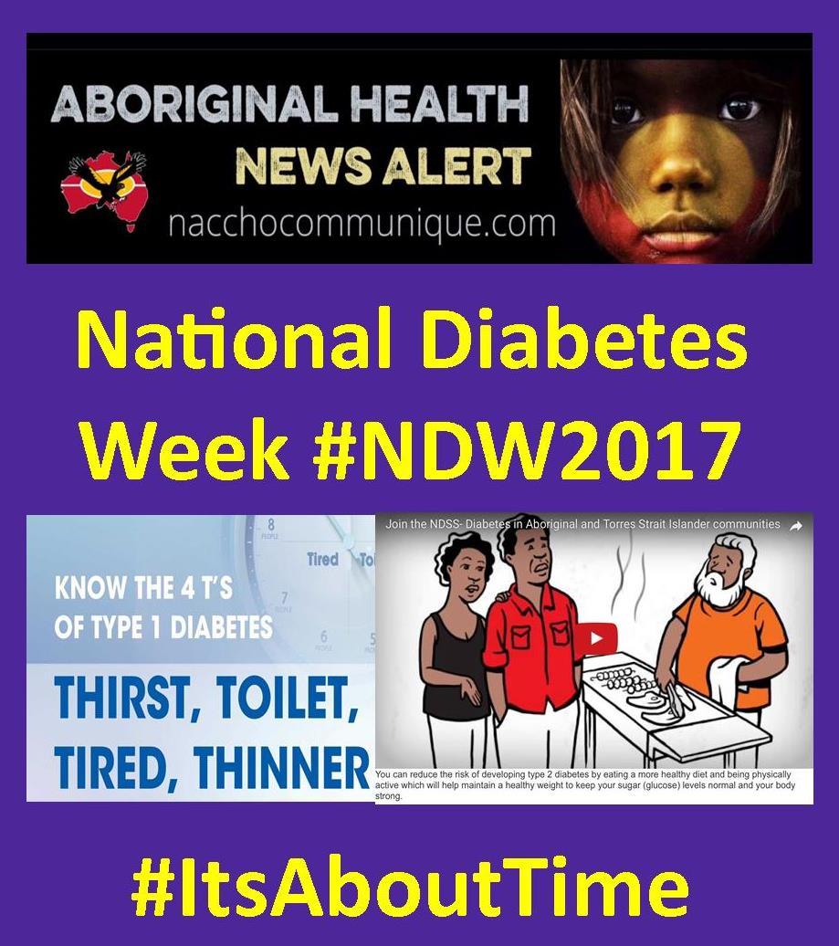 Diabetes Australia Naccho Aboriginal Health News Alerts
