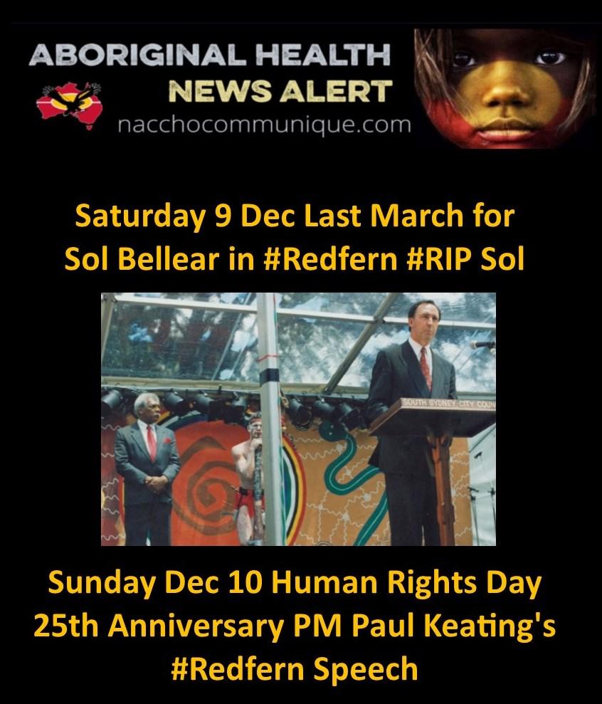 Sol Bellear   NACCHO Aboriginal Health News Alerts