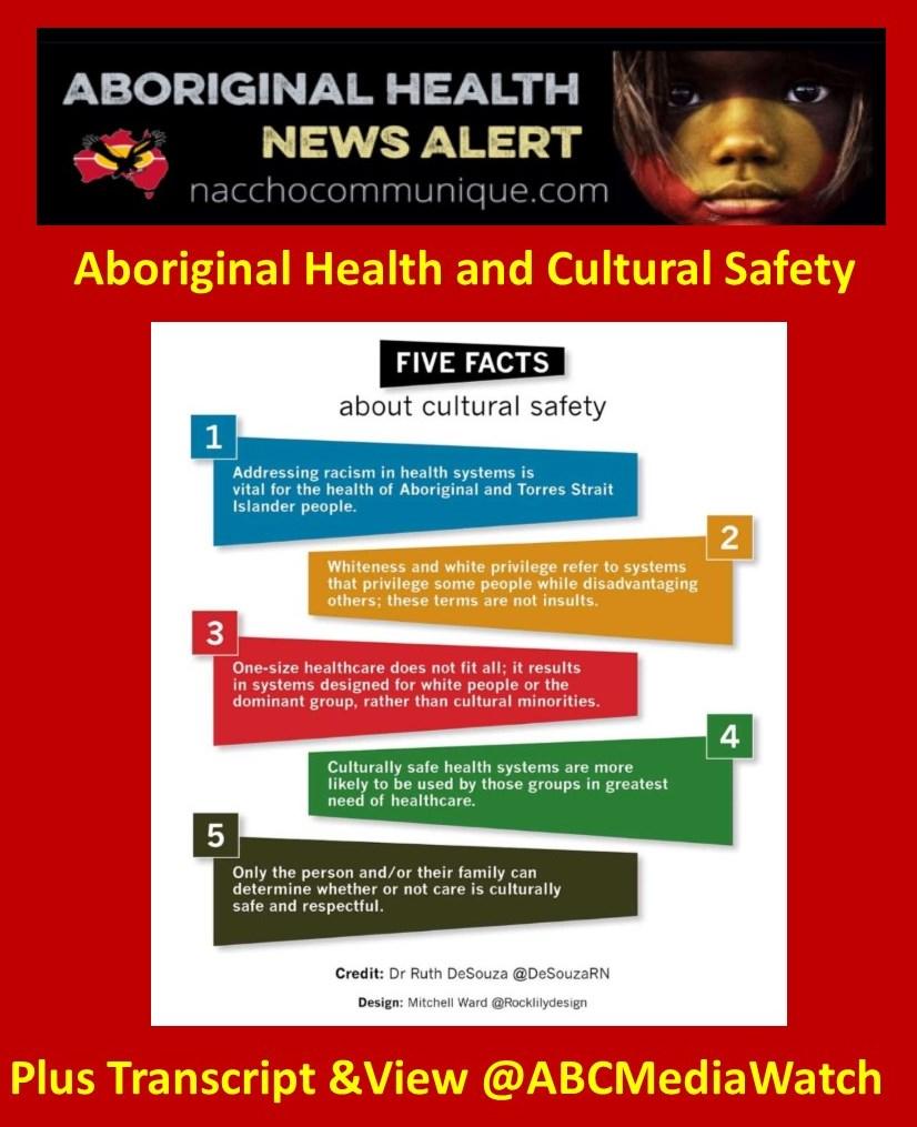 NACCHO #MediaWatch Aboriginal Health @DeSouzaRN busting 5 Myths