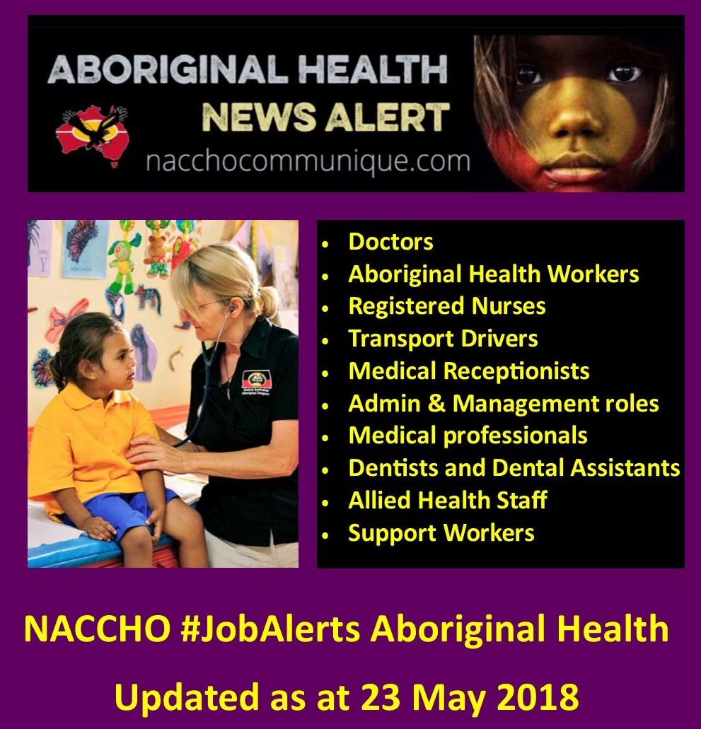 NACCHO Aboriginal Health #ACCHO Job Opportunities Inc #Nurses