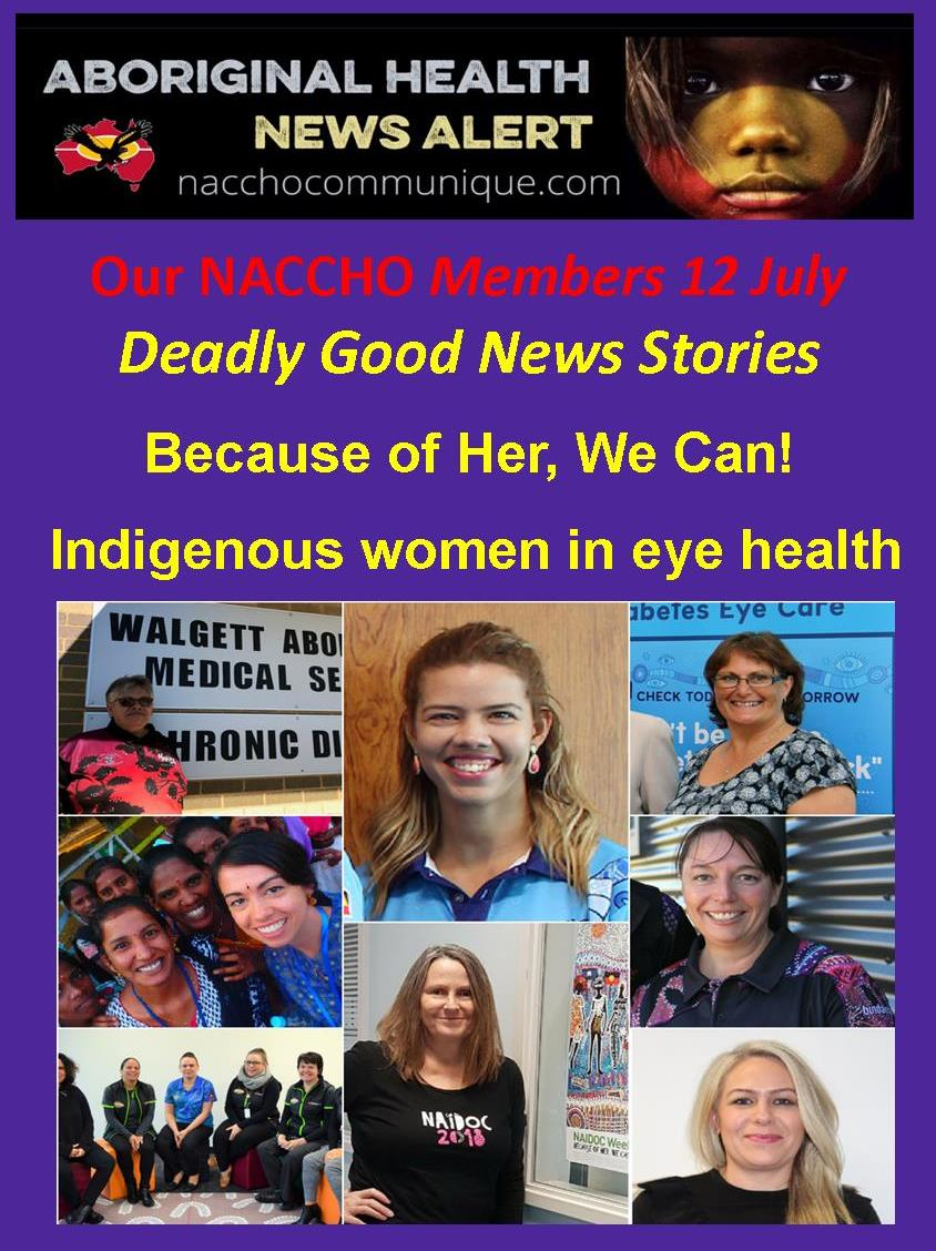 e080f5c3f5d NACCHO and  Vision2020Aus Aboriginal Eye Health Deadly Good News     BecauseofHerWeCan  WeCan18 ! –  Indigenous women in eye health   Walgett AMS ...