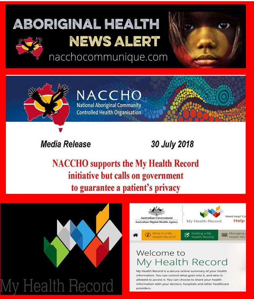 NACCHO Aboriginal Health and #MyHealthRecord : NACCHO endorses and