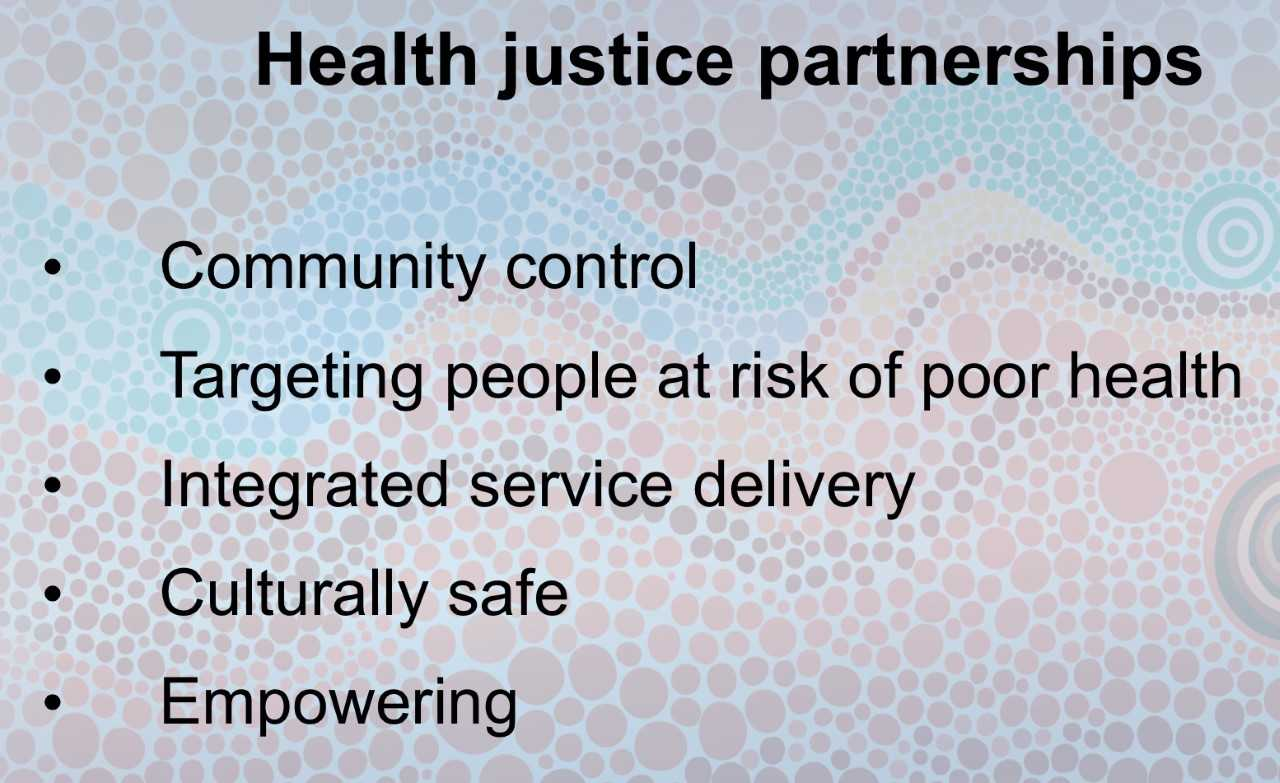 16f3d4057 Given ACCHOs commitment to providing services based on community identified  needs