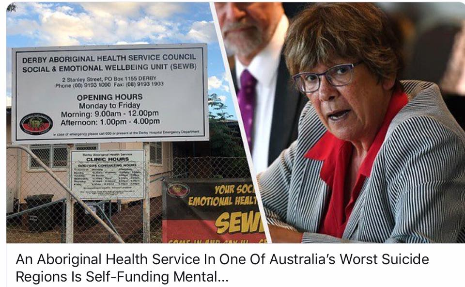 NACCHO Aboriginal Health and #SuicidePrevention Recommendation 4 of 10 : Why does an Aboriginal ACCHO Health Service in one of Australia's worst suicide regions have to self-fund #MentalHealth roles
