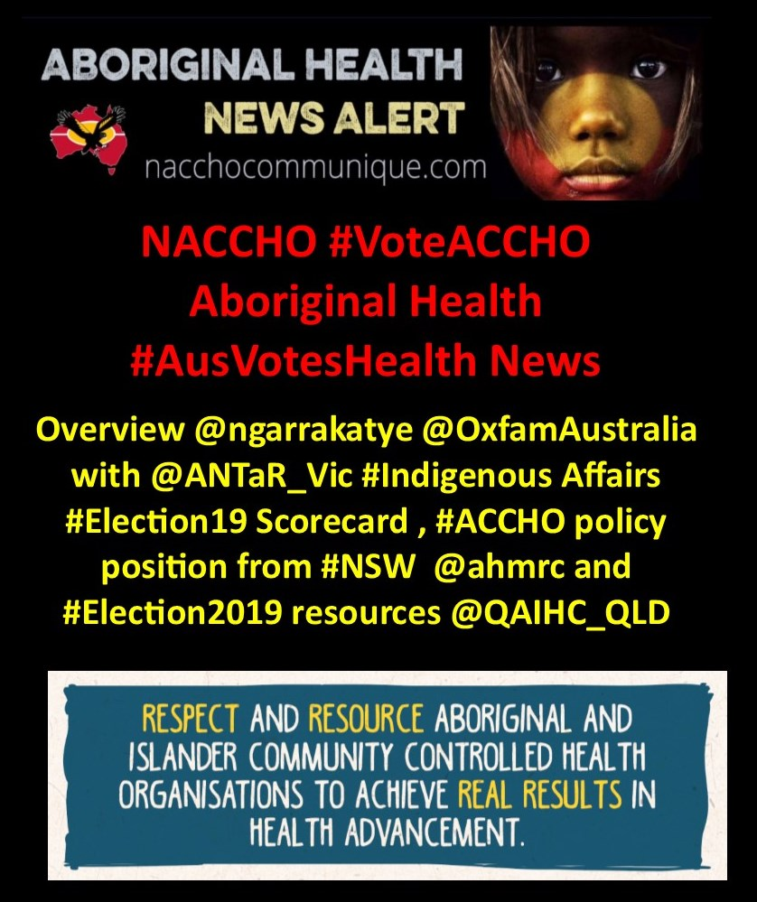 Elections 2019 | NACCHO Aboriginal Health News Alerts