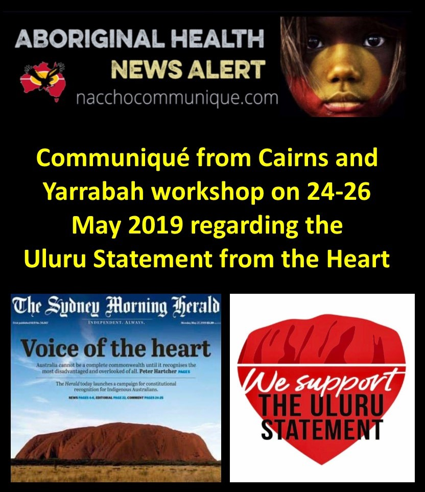 NACCHO Aboriginal Health #NRW2019 and the Referendum News