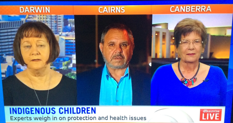 """NACCHO Aboriginal Health and #Racism : Aboriginal Health promotion footage use by Sunrise Breakfast Show @sunriseon7 could be seen by some in the Yirrkala community as """"damaged goods"""" says judge"""