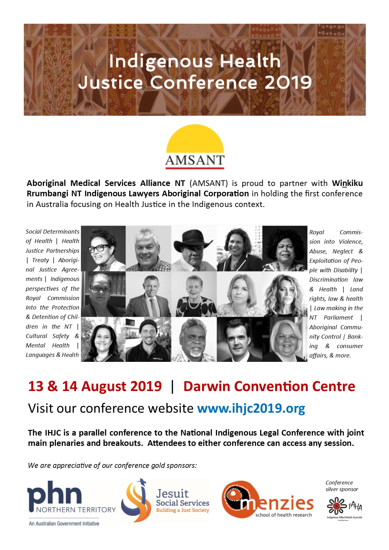 Save the date-events meeting conferences | NACCHO Aboriginal Health
