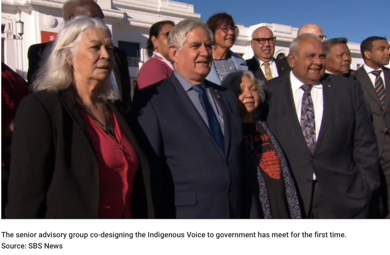 NACCHO Aboriginal Health and the #Ulurustatement : The Senior advisory group co-designing the Indigenous Voice to government has meet for the first time : Includes today's Editorial from the The Australian and @KenWyattMP speech