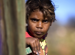 young Aboriginal boy