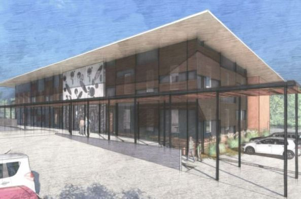 DRA Architects sketch of new Durri medical centre