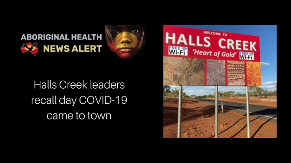 Feature tile - Halls Creek 'Heart of Gold' town entry sign