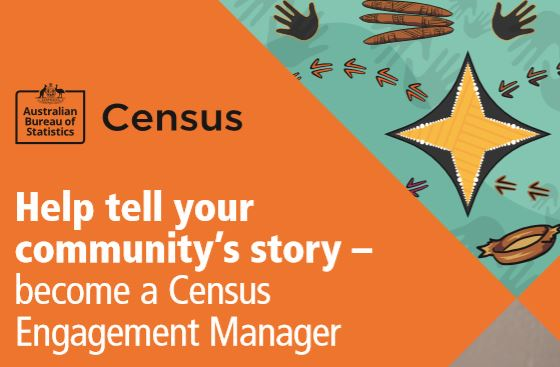 ABS 2021 Census Engagement Manager banner