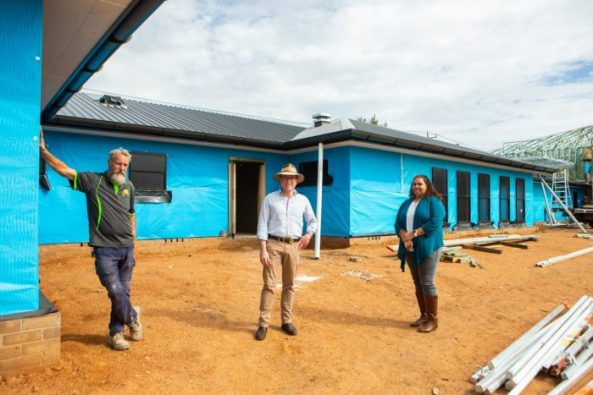 new Armajun Aborignal Health Service Inverell being built