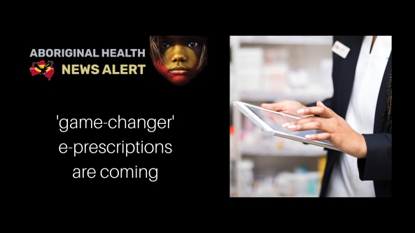 feature tile - Aboriginal hands in pharmacy clicking iPad