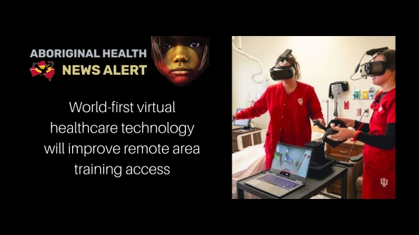 feature tiel - two nurses using virtual healthcare training goggles
