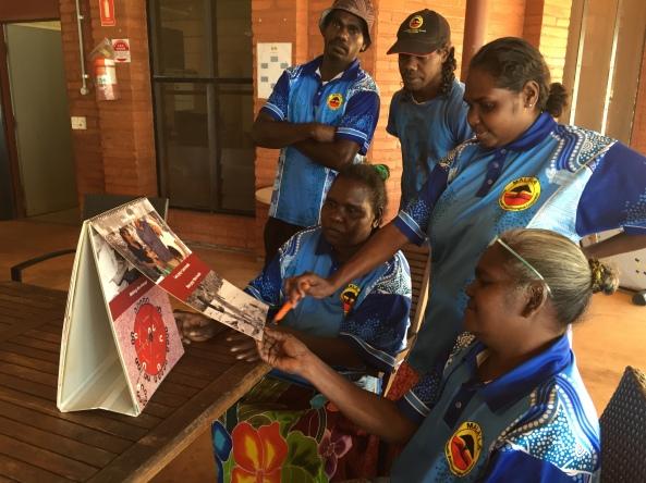 5 Mala'la Health Service AC staff