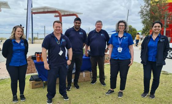 the Kaat Darabiny team at South West Aboriginal Medical Service