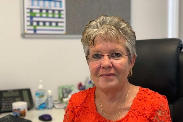 portrait photo of Vicki O'Donnell, KAMS CEO in office