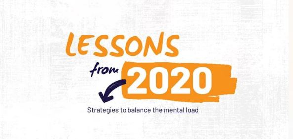 tile Lessons from 2020 strategies to balance the mental load