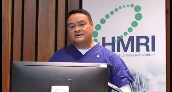 Professor Kelvin Kong presenting at Indigenous Health - Eliminating the Gap virtual seminar