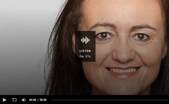 portrait photo of Donna Stolzenberg ABC Radio Melbourne audio clip tile