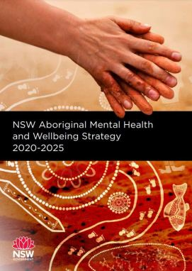 cover of the NSW Aboriginal Mental Health & Wellbeing Strategy 2020–2025