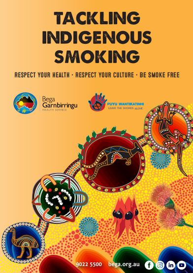 cover of Tackling Indigenous Smoking Bega Garnbirringu booklet
