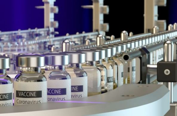 vaccine Coronavirus production line