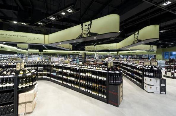 Dan Murphy's mega store internal image