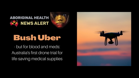 Custom-made, state-of-the-art medical drones with a flying range of up to 250km will be developed and trialled for delivery of potentially life-saving medicines in the Northern Territory - Australia's first ever healthcare drone trail for regional Australia. The project will also pave the way for future delivery of critical items such as cold-storage vaccines (Covid 19) in regional and remote communities, the iMOVE Cooperative Research Centre - part of the Federal Government-funded CRC Program - revealed today. The Northern Territory is one of the most sparsely settled jurisdictions in the developed world with a significant Indigenous population living in remote communities.