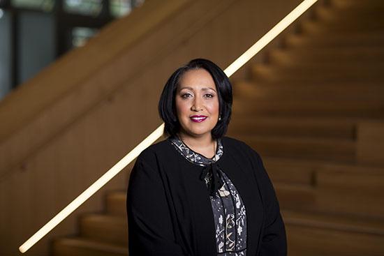portrait photo Professor Jacinta Elston, Pro Vice-Chancellor of Monash University